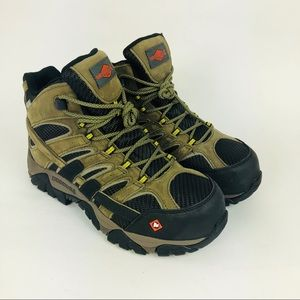 Merrell Moab 2 Composite Safety Toe Work Boots New